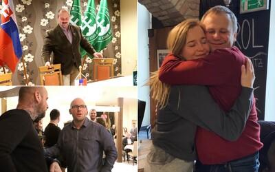 V parlamente budú aj rodinní príbuzní. Prekrúžkovali sa Marian a Marek Kotlebovci, Kuffovci aj Ledecký a jeho dcéra Marcinková