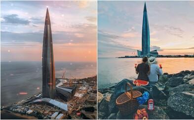 V Petrohrade vyrástol najvyšší európsky mrakodrap. Otáčajúca sa budova bude disponovať planetáriom či amfiteátrom