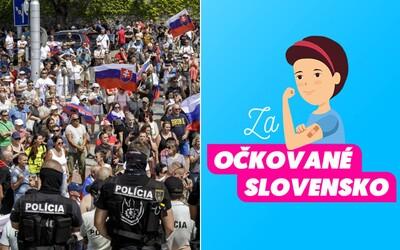 V piatok bude v Bratislave manifestácia na podporu očkovania, ide o reakciu na agresívny protest