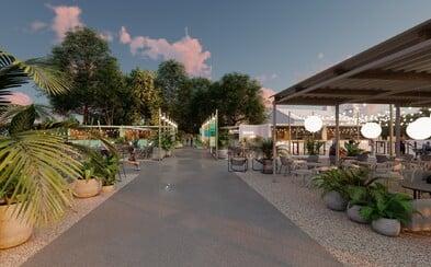 V piatok otvoria v Bratislave novú mestskú pláž. Nebude chýbať  ani fantastické jedlo