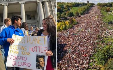 V pátek po celém světě stávkovaly miliony lidí za budoucnost. Takto to vypadalo v Austrálii, Kanadě či na Novém Zélandu