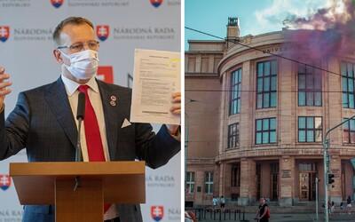 V piatok sa v Bratislave uskutoční protest Za odpochodovanie plagiátorov z politiky. Organizátori chcú, aby Boris Kollár odstúpil