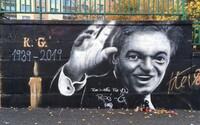 V Plzni uctili památku Gotta škaredým graffiti. Tak to se nepovedlo, píší lidé na sociálních sítích