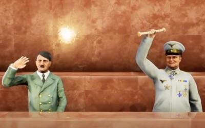 V počítačovej hre obsadíš s Adolfom Hitlerom Moskvu. Kremeľ kritizuje tvorcov