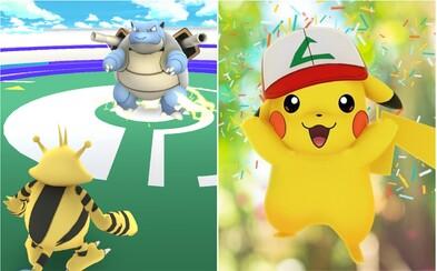 V Pokémon Go už mohou hráči konečně zápasit proti sobě. Hra spouští očekávané PvP souboje