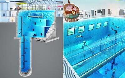 V Polsku už letos otevřou nejhlubší bazén na světě, ve kterém se budeš moct ponořit do hloubky desítek metrů