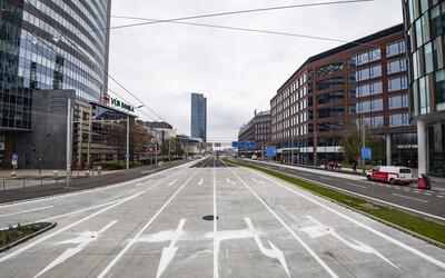 V pondelok otvoria zrekonštruovanú časť ulice Mlynské Nivy: Môžeš sa tešiť na viac zelene, rozšírené chodníky ale aj cyklotrasu