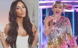 V pozadí videa Kim Kardashian hrá pesnička od jej údajnej najväčšej rivalky Taylor Swift a fanúšikovia šalejú