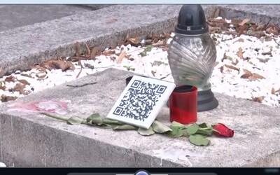 V Prahe sa nachádza prvý digitálny náhrobok. Budú cintoríny preplnené QR kódmi?