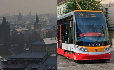 V Praze bude při smogové situaci MHD zdarma