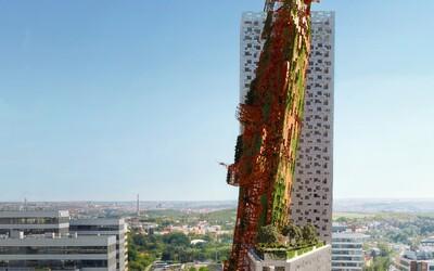 V Praze má vyrůst nejvyšší budova v Česku. Top Tower bude dominovat vrak lodi zapíchnutý do země