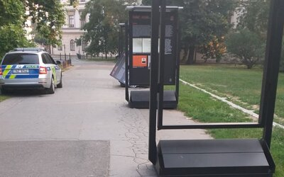 V Praze někdo zdemoloval výstavu o Miladě Horákové