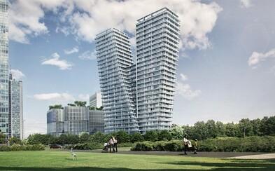 V Praze vyroste superluxusní bytový mrakodrap. Byty v nejvyšších patrech vyjdou na sto milionů korun