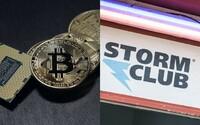 V pražském klubu Storm nově zaplatíš bitcoiny. Jaké další kryptoměny zavádí a čeho všeho se to týká?