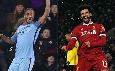 V Premier League vrcholí boj o titul. Vyhraje Liverpool, nebo Manchester City?
