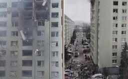 V prešovskom paneláku vybuchol plyn, mohutná explózia vybila všetky okná a zničila niekoľko poschodí (Aktualizované)