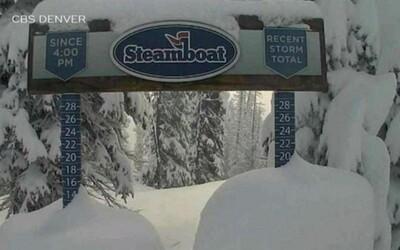 V první letní den napadlo v Coloradu 60 centimetrů sněhu