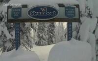 V prvý letný deň napadlo v Colorade až 60 centimetrov snehu
