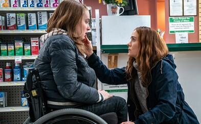 V thrilleru Run hraje herečka na invalidním vozíku nemocnou dceru, kterou její matka se strašným tajemstvím izoluje od světa