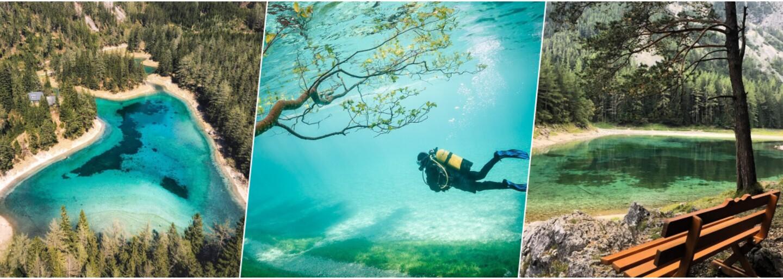 V Rakúsku sa nachádza úchvatný park, ktorý sa na niekoľko mesiacov v roku mení na raj pre potápačov
