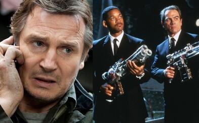 V reboote Men in Black si zahrá aj Liam Neeson. Odhalený bol aj prvý štýlový plagát chystaného filmu