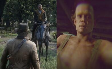 V Red Dead Redemption 2 sa môžeš nechať aj znásilniť. V osamelej chate ti úchyl nič nedaruje