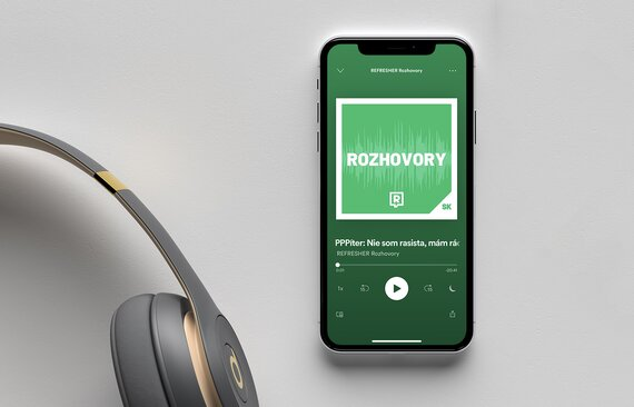 V Refresheri sme spustili podcasty a už teraz bodujeme v rebríčku tých najobľúbenejších