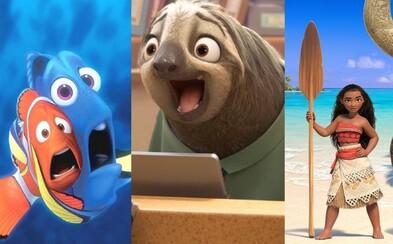 V roku 2016 sa množstvo obľúbených zvierat a detských hrdinov vráti v očakávaných animákoch