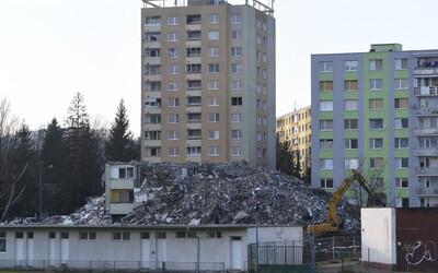 V ruinách prešovskej bytovky našli ľudské pozostatky