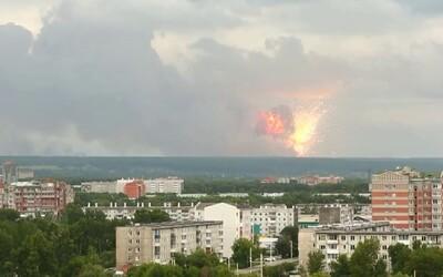 V Rusku explodoval muničný sklad, celú oblasť museli evakuovať