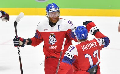 V semifinále se čeští hokejisté postaví Kanadě