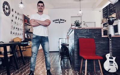 V srdci Banskej Štiavnice si bývalý tréner otvoril tvorivú kaviareň. Organizuje zaujímavé workshopy a ponúka najlepšiu kávu v širokom okolí