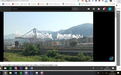 V Taliansku odpálili diaľničný most, ktorý sa minulý rok zrútil a spôsobil tragédiu