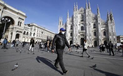 V Itálii přibylo za večer 40 nových případů nákazy koronavirem