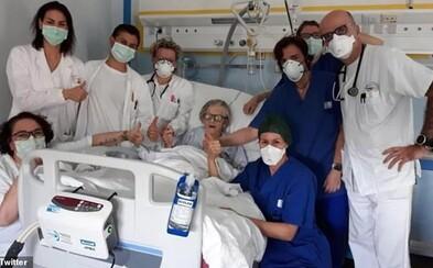 V Taliansku sa vyliečila z koronavírusu 95-ročná babička