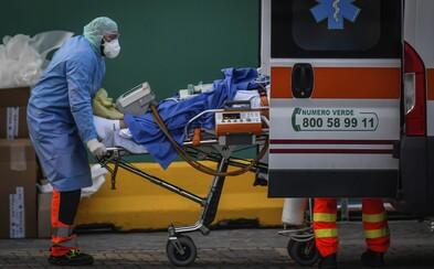 V Itálii za jeden den zemřelo na koronavirus téměř 750 lidí, čísla nakažených se opět přibližují ke smutnému rekordu z víkendu