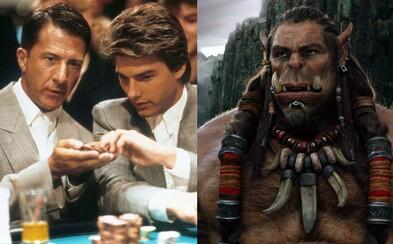 V telke pobeží geniálny horor The Shining, oscarová klasika Rain Man či rozporuplné fantasy Warcraft
