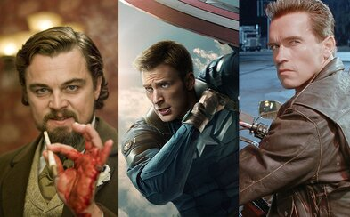 V telke pobeží Nespútaný Django, druhý Captain America či kultový Terminátor 2