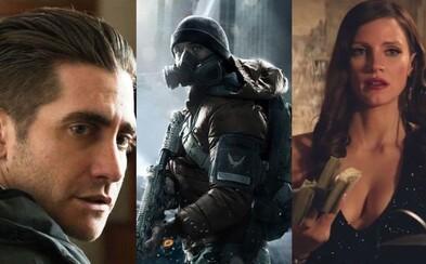 V The Division uvidíme Jessicu Chastain a Jakea Gyllenhaala. Ako špeciálni agenti budú zachraňovať New York bez polície a po kolapse vlády