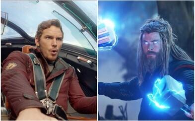V Thorovi 4 bude aj Star-Lord. Film bude mať toľko marveláckych hrdinov, že pôjde o malých Avengers