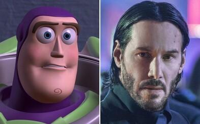 V Toy Story 4 budeme počuť aj charizmatického Keanu Reevesa alias Johna Wicka!