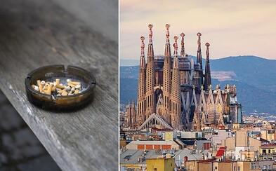 V ulicích Barcelony se od příštího roku zřejmě nebude moci kouřit