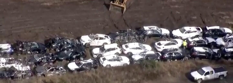V USA došlo k vlakovému nešťastiu, pri ktorom si to odniesla takmer stovka nových luxusných BMW