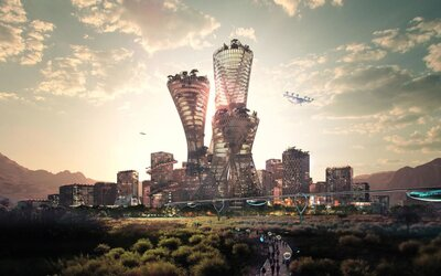 V USA vznikne v púšti mesto budúcnosti. Stáť bude 400 miliárd dolárov