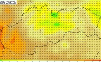 V utorok budú horúčavy. SHMÚ vydalo varovanie