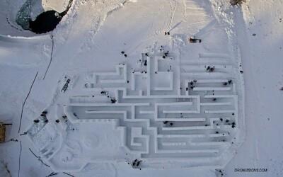 V Zakopanom sa nachádza najväčší ľadový labyrint na svete. Kúsok od slovenských hraníc by ho mali otvoriť v najbližších dňoch