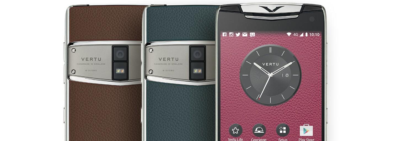 V znamení luxusu. Mobilná novinka Vertu Constellation kombinuje zafír, titánové telo a precíznu ručnú výrobu
