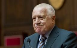 Václav Klaus je opět v nemocnici