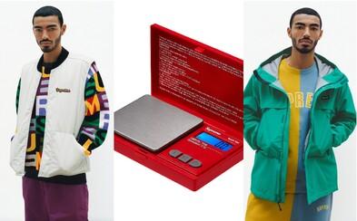 Váha na váženie drog alebo nafukovacie kreslo. Značka Supreme odhalila kolekciu oblečenia a doplnkov na jeseň a zimu