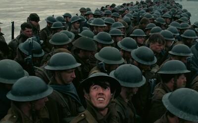 Válečný film Dunkirk podle režiséra Christophera Nolana nabídne vizuální orgie a skvělé záběry z leteckých bitev